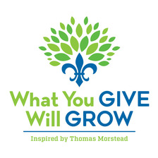 What You Give Will Grow  logo