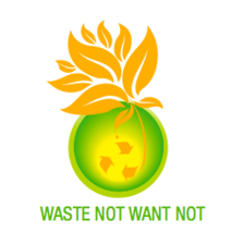 Waste Not Want Not Now and The Center at Blessed Sacrament logo
