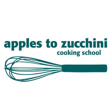 Apples to Zucchini Cooking School logo